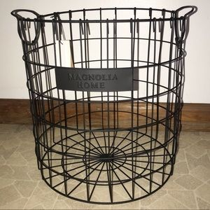 New Magnolia Home Black Wire Basket
